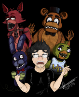 Markiplier: Five nights at Freddy's by 10SHADOW-GIRL10
