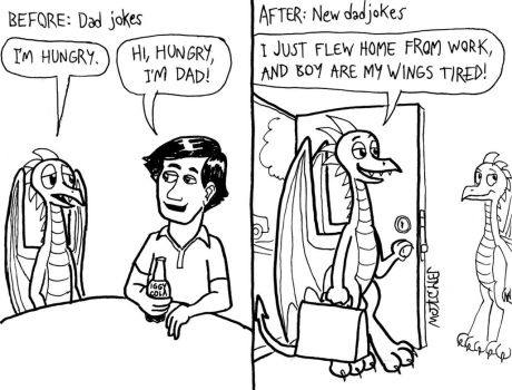 Daryl Jones: Human vs. Dragon Parents, page 4 by KTurtle