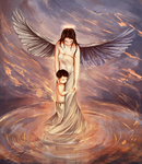 mother is god in the eyes of a child by hana-sakurano