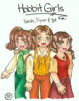 Hobbit Girls by hobbit-katie