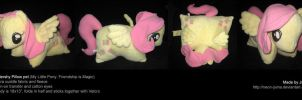Fluttershy pillow pet by Neon-Juma