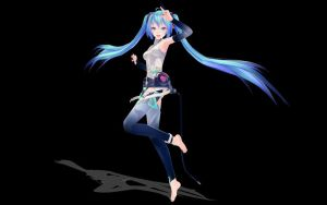 MMD Miku at Your Service! by SqueakyTachibana