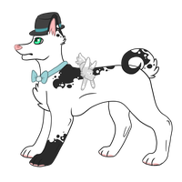 Magician Dog - Auction - closed by thedoomedkitteh