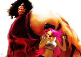 Hugo and Poison by ibroid