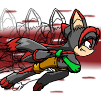 Shadow Super Speed by moralde10