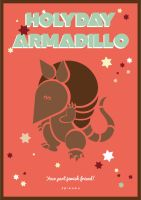 The Holiday Armadillo by KenickiE