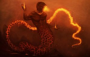 Fire Elemental by R1ngoP