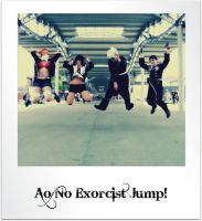 Ao no exorcist jump!!! by Redzs00