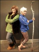 Jack Frost and Hiccup by StarryNight359