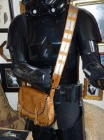 chewbacca leather bag by funkydpression