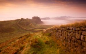 Hadrian's Wall by welshdragon