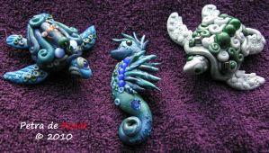 Sea Creature Jewelry by spaceship505