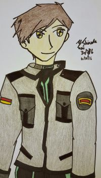 Random Drawing - Ulrich by yumithespotter