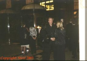Alan Rickman in Savoy Hotel by JanuaryGuest