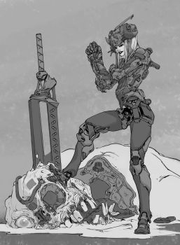 Space mutant slayer by DavidSequeira