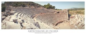 Amphitheater of Patara by erman-y