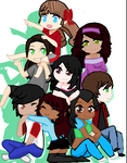 My Friends Group Pic by BebeKimichi