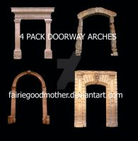 Tube Pack Doorway Arches by FairieGoodMother