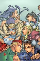 Streetfighter13 Cover by grampsart