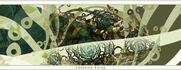 crossing paths by misterxz