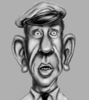 Andy Griffith by imdeerman