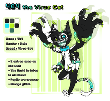 404 the Virus Cat by SMASH-ii