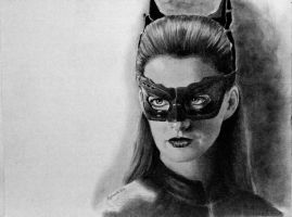 Catwoman Hathaway by joniwagnerart