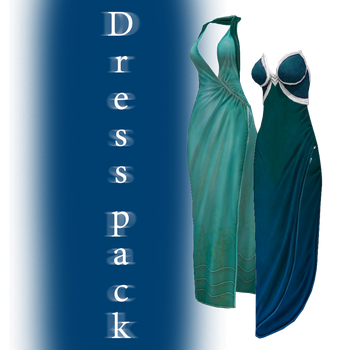 [MMD] Dress pack - DL by JoanAgnes