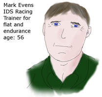 Mark Evens-Racing Trainer by patchesofheaven74