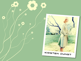 Kirsten with flowers by netza