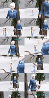 MMD Comic - Bored, Frost, memories and deer part 1 by JackFrostOverland