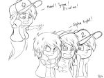 Gravity Falls- Mystery Triplets (Sketch) by AlinaCat923