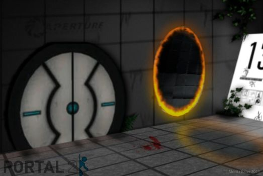 Portal 2 Image Manipulation by moRITZy