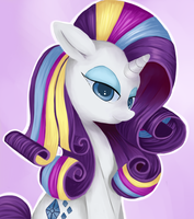 Rainbow Power Rarity by WhimsicalMachines
