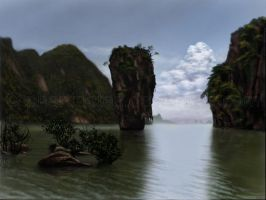 James Bond Island by phantastes