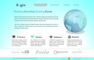 Bogex Corporate Website Conp2 by decolite