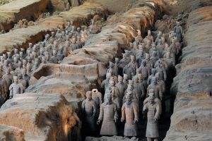 Terracotta army - 1 by wildplaces