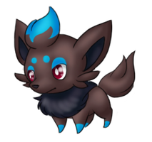 'Nother Shiny Zorua by Riku-Eevee