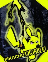 pikachuTHUNDER by jasonabroussard