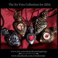 The Flaming Heart Ex Voto Collection for 2016 by natamon