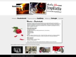 Studio Filmowe Stopklatka website by michaelblackpl