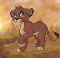 Lion king OC - Whotanu by sparkyHERO