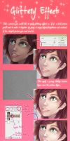 Glittery Skin Effect tutorial by palnk