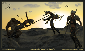 The Battle of Cor-Nag-Shaar by adzojan