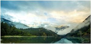 North Cascades Panorama by ThisWomanWanders