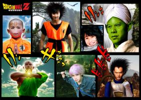 DRAGON BALL Z REAL WARRIORS by toriman-28