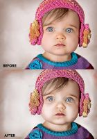 Portrait Enhance - Baby Face by rexolution