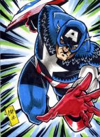 Captain America PSC by Foreman by chris-foreman