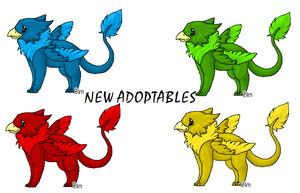 new adoptables O3O by Bimmerd