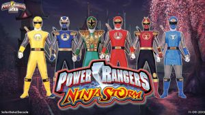 Power Rangers Ninja Storm WP by jm511